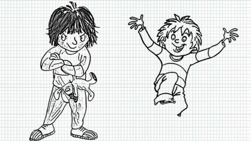 Horrid Henry Coloring Pages Coloring Page Books And Etc Horrid Henry Coloring Pages