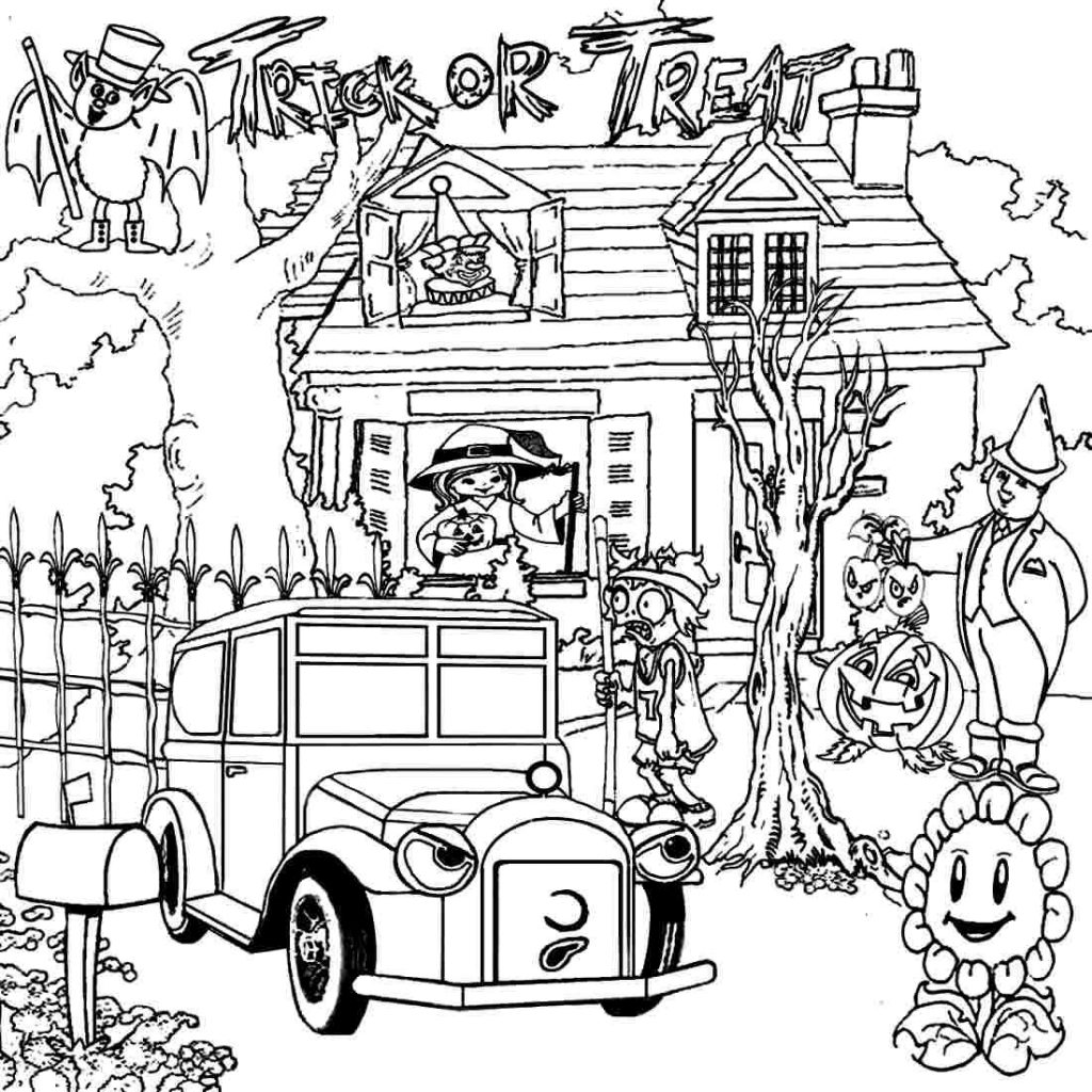 Mansions Coloring Pages