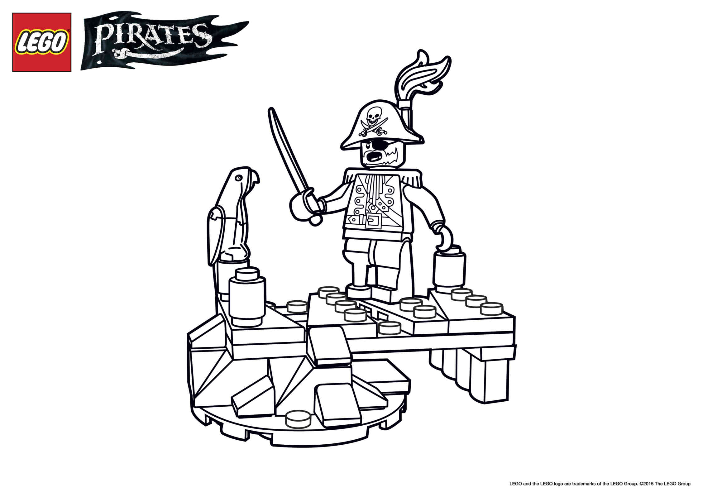 Discovery Boat Coloring Page