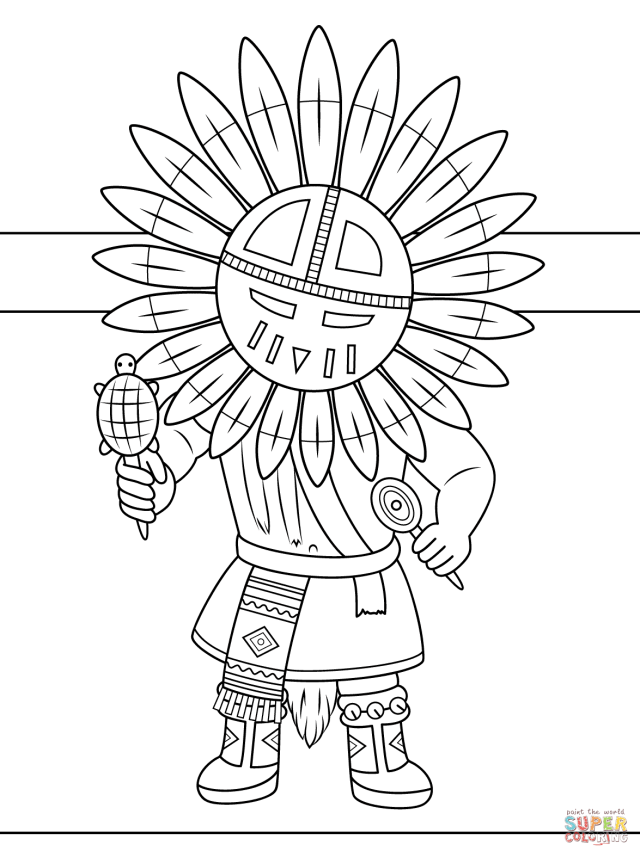 Native Americans Coloring Pages  Free Coloring Pages - Coloring Home