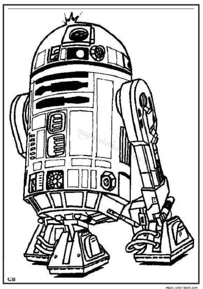 star wars coloring pages r2d2  coloring home