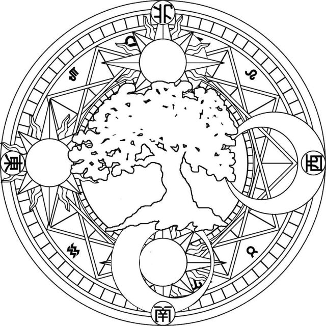 Celestial Coloring Pages - Coloring Home
