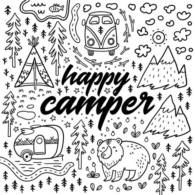 RV Coloring Pages - Coloring Home