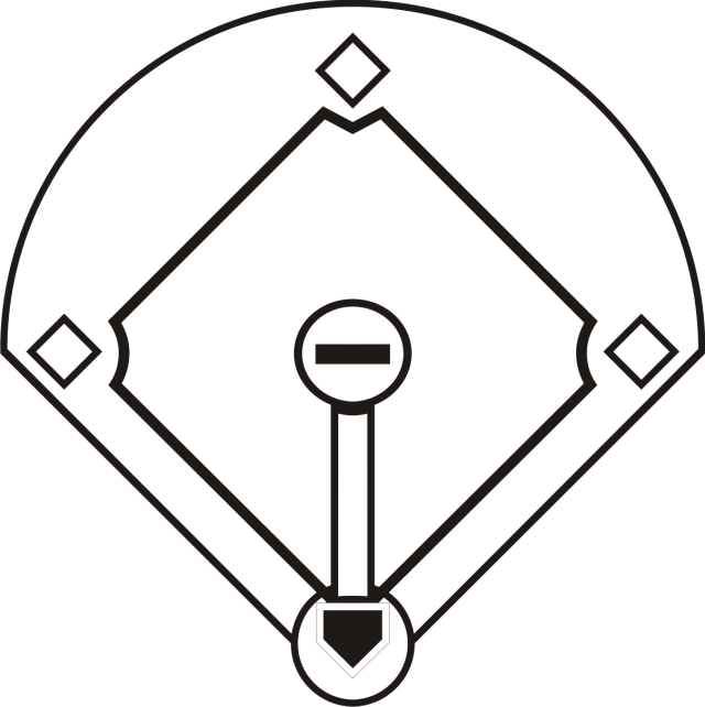 Baseball Diamond Coloring Pages - High Quality Coloring Pages
