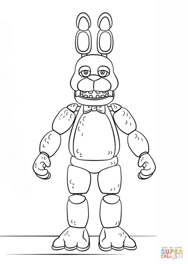 FNAF Coloring Pages - Coloring Home