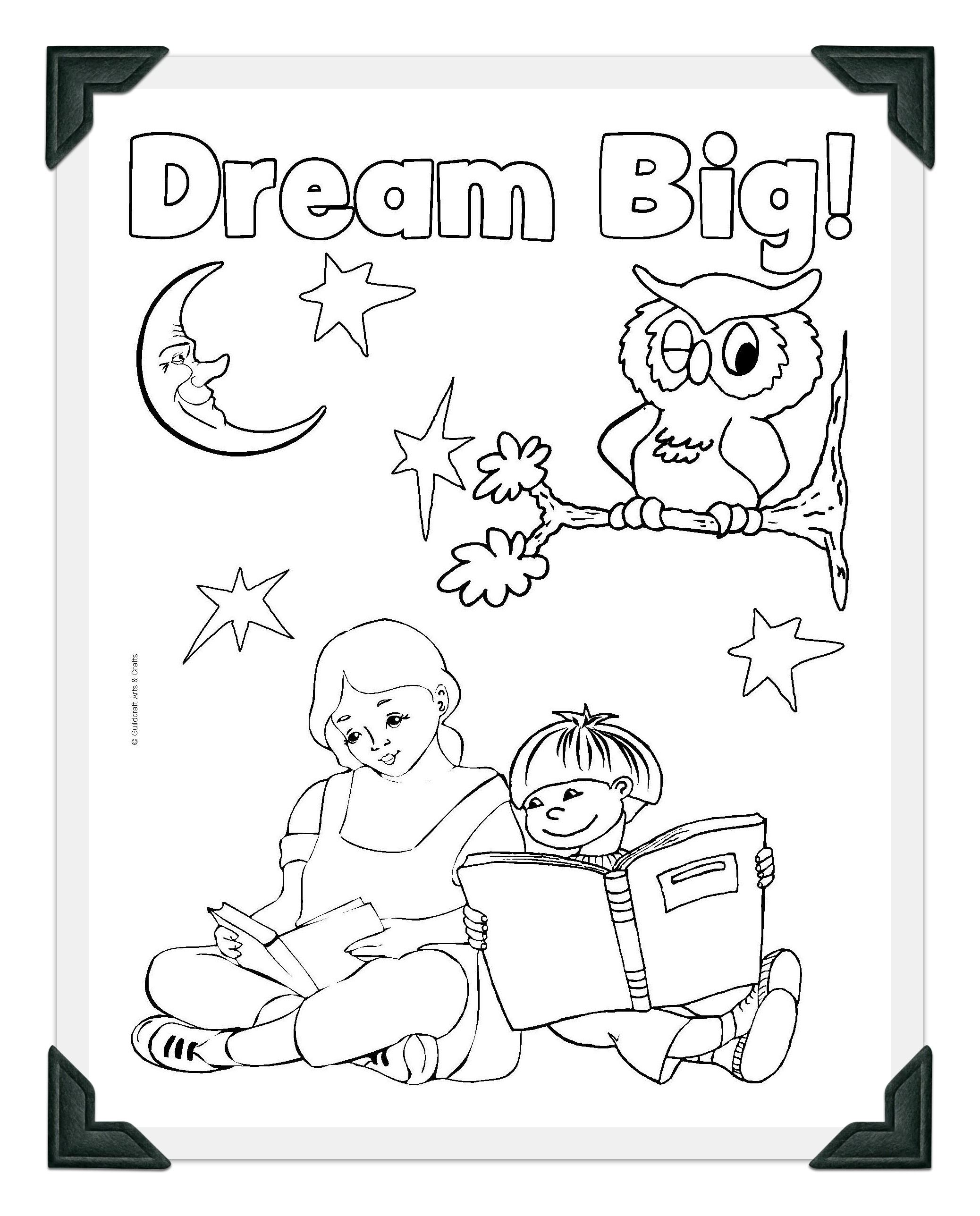 National Library Week Coloring Pages