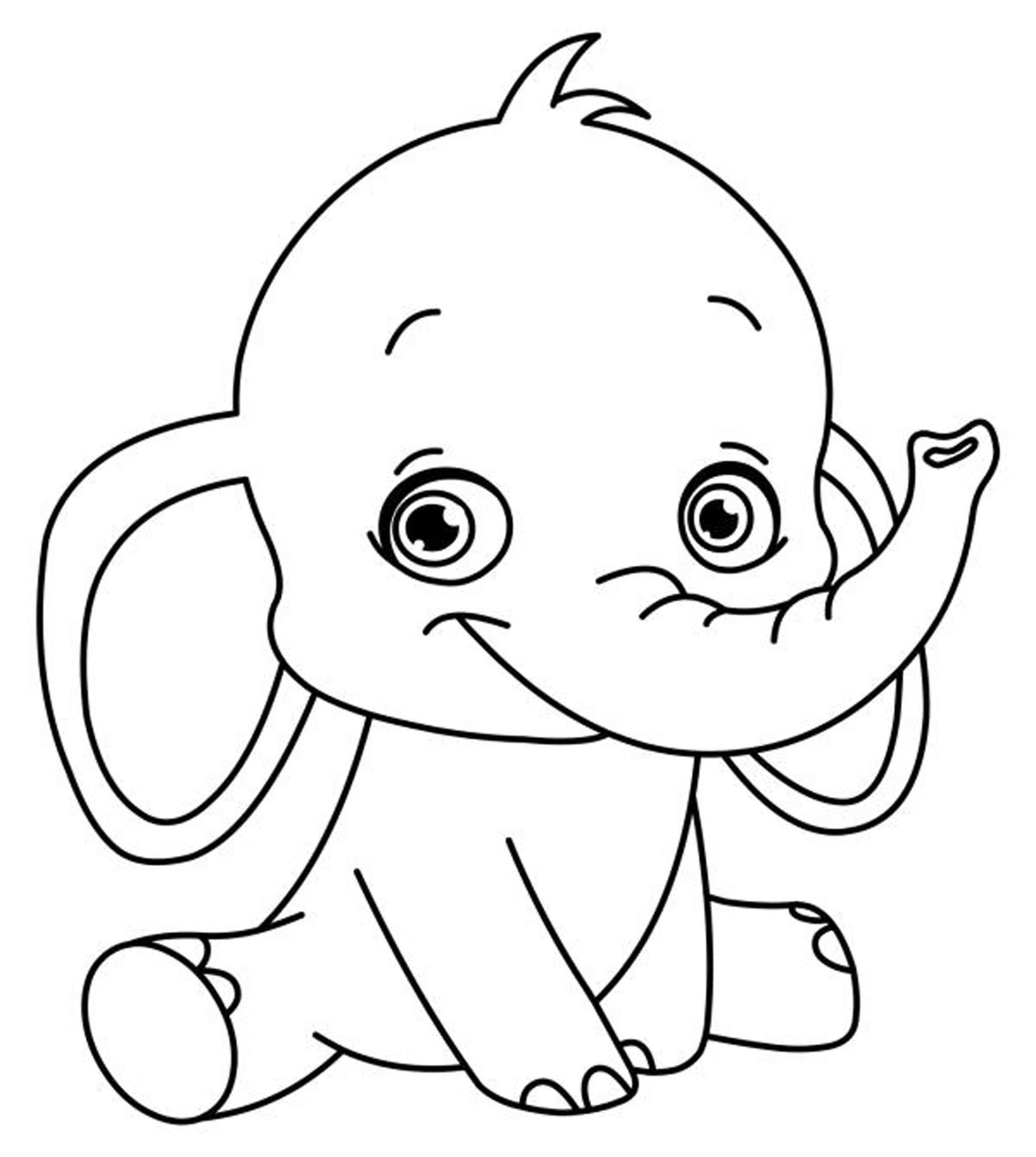 Easy Coloring Pages Printable