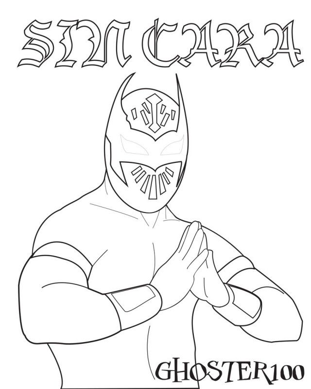 John Cena Logo Coloring Pages