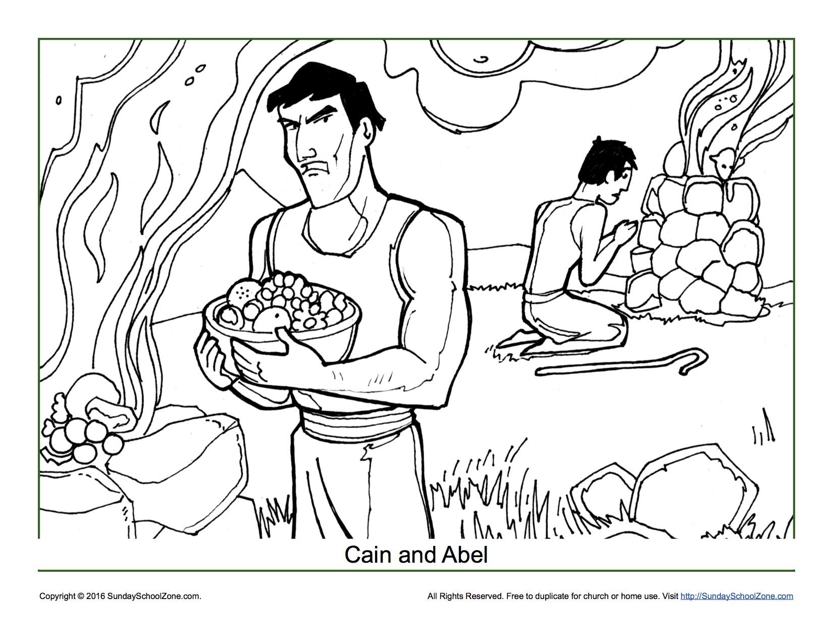 Jacob Esau Coloring Pages