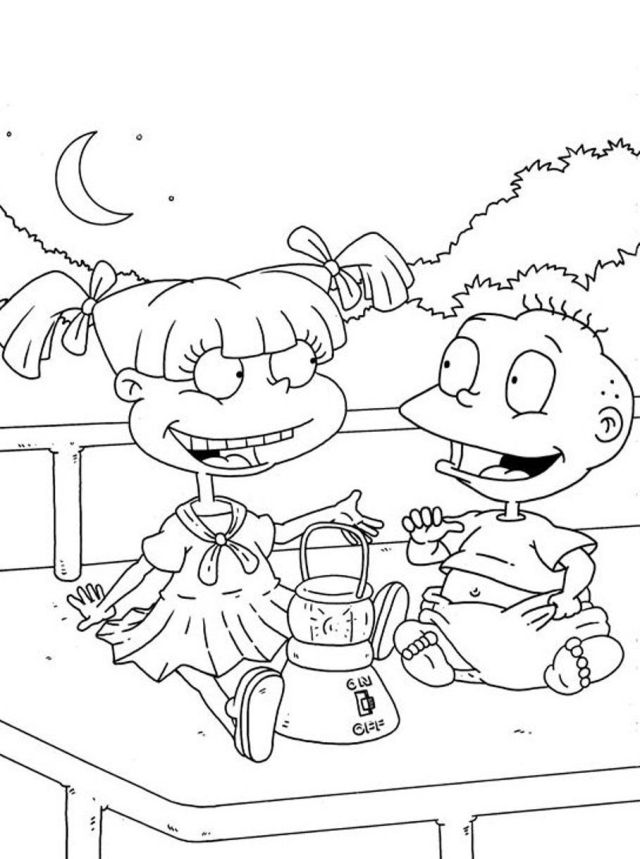 Rugrats Kimi Coloring Pages - HiColoringPages - Coloring Home