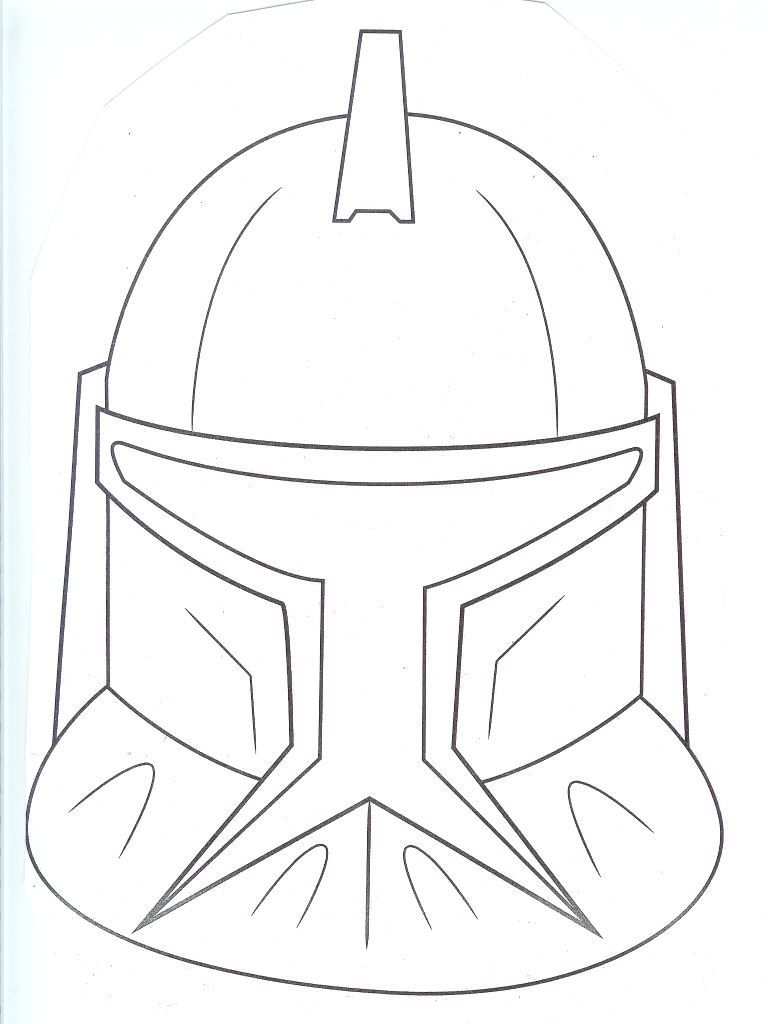 Star Wars Clone Coloring Pages Printable