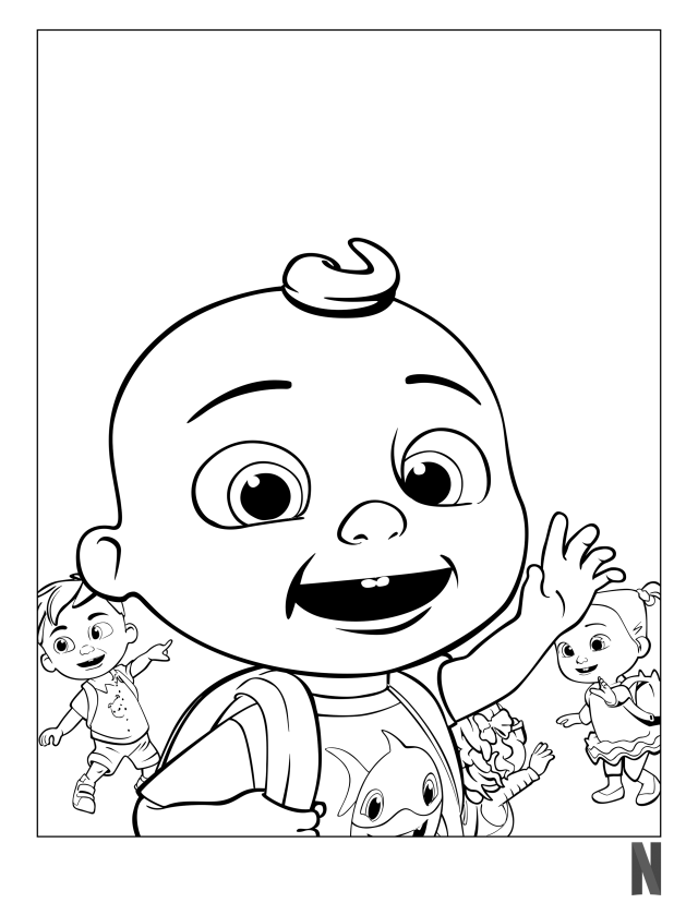 Cocomelon Coloring Pages - Coloring Home