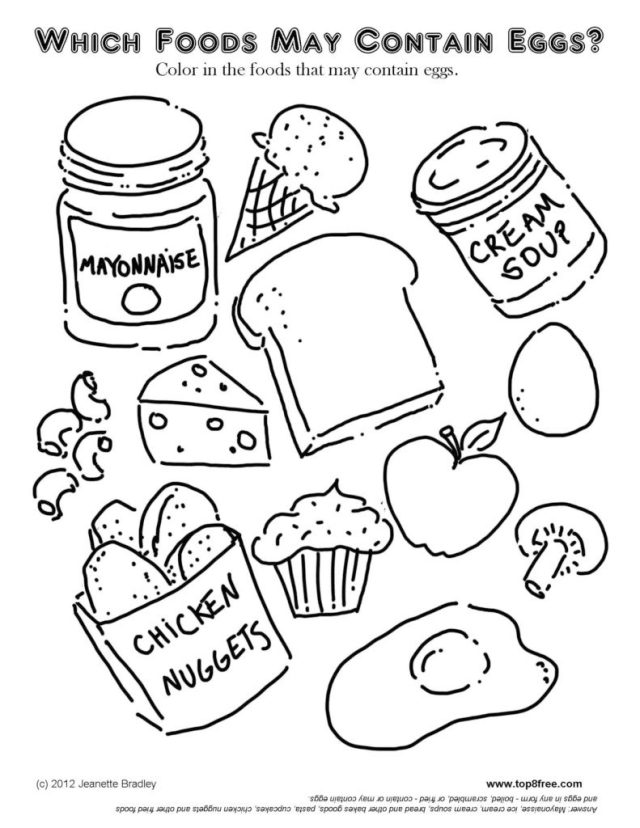 Affordable Food Pyramid Coloring Pages On Food Coloring Pages On