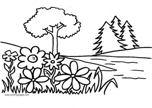 garden coloring page # 24