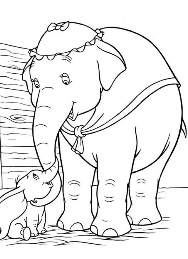 Dumbo Coloring Pages To Print - Coloring Home
