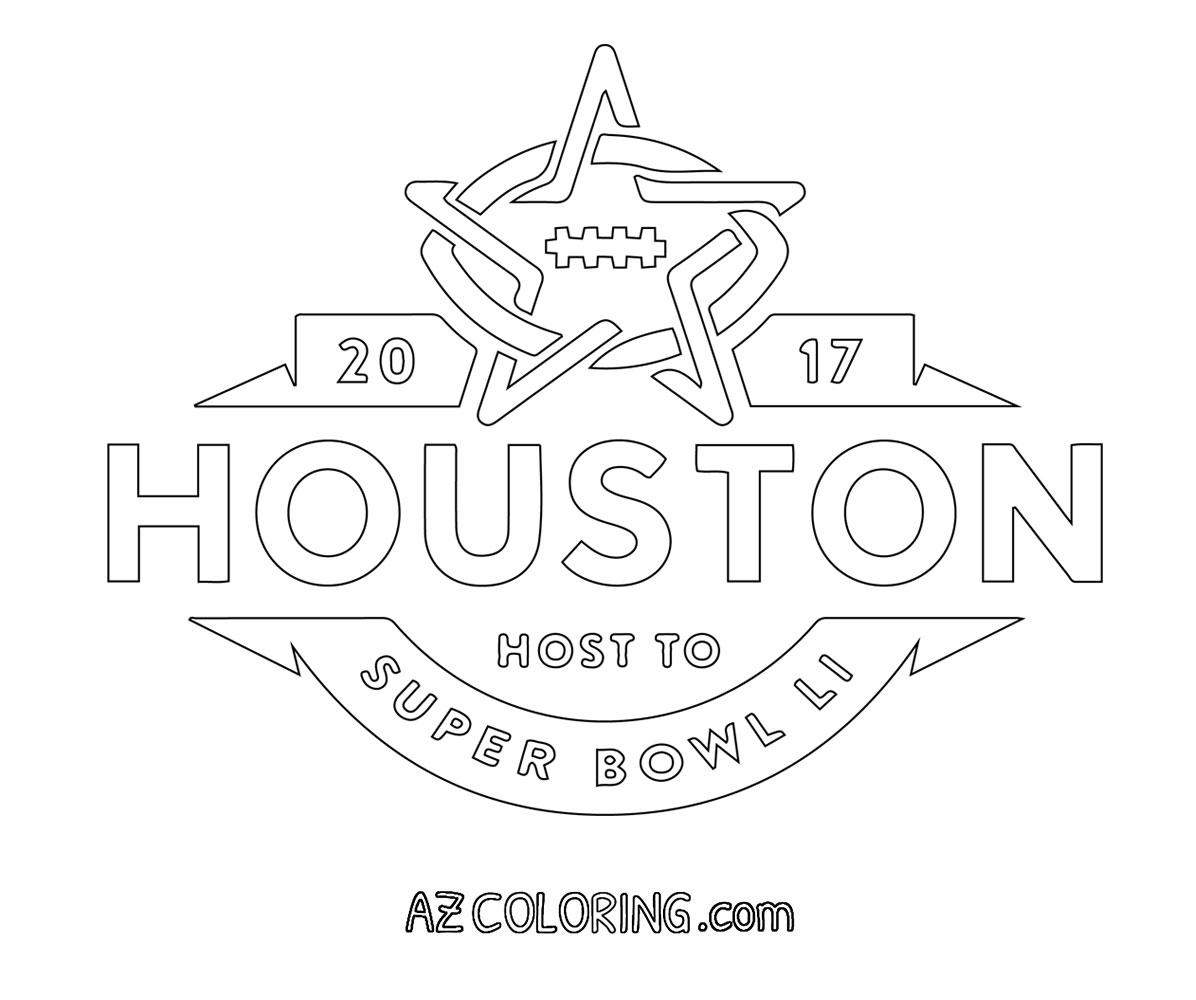Super Bowl Coloring Pages