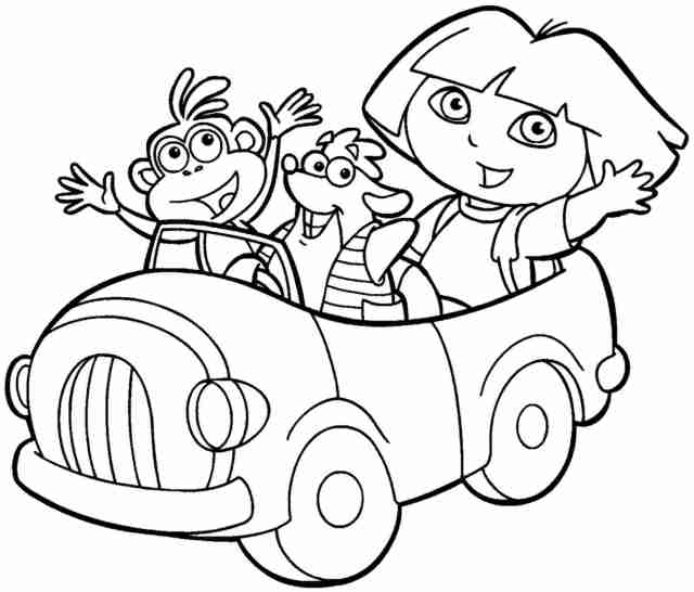 19 Pics Of Dora And Friends Mermaid Coloring Pages - Dora And