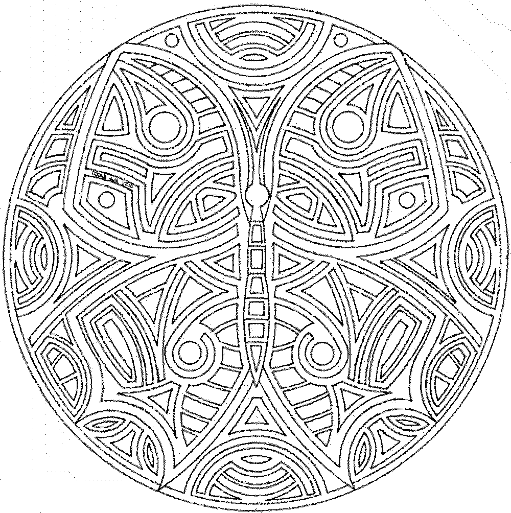 Free Mandala Coloring Pages For Adults - Coloring Home | free coloring pages mandalas