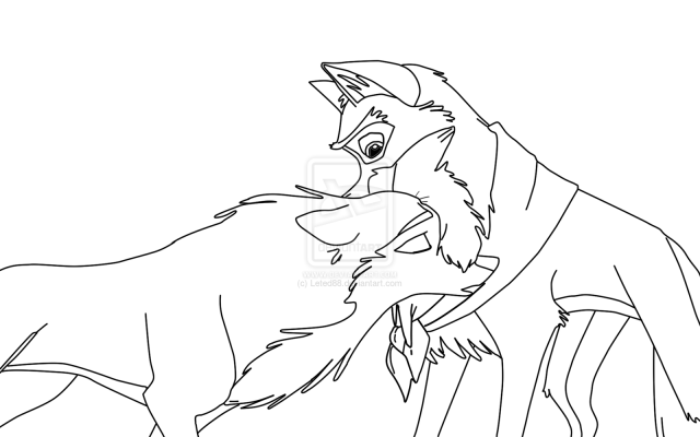 Balto movie coloring pages