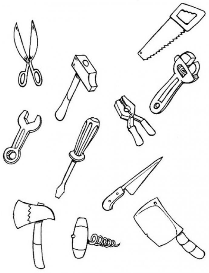 Use Pictures Carpenters Tools