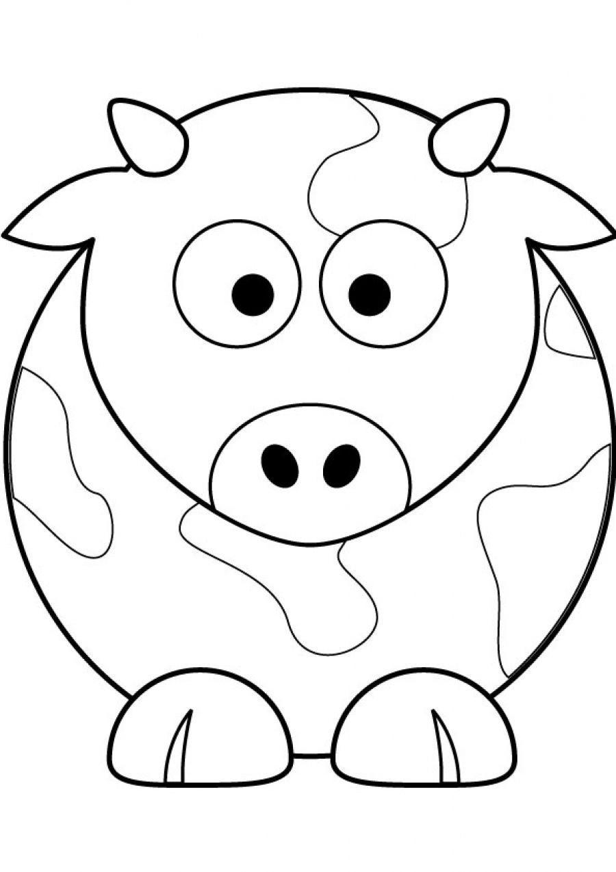 Cute Printable Coloring Pages Animals - Coloring Home | free printable coloring pages cute animals