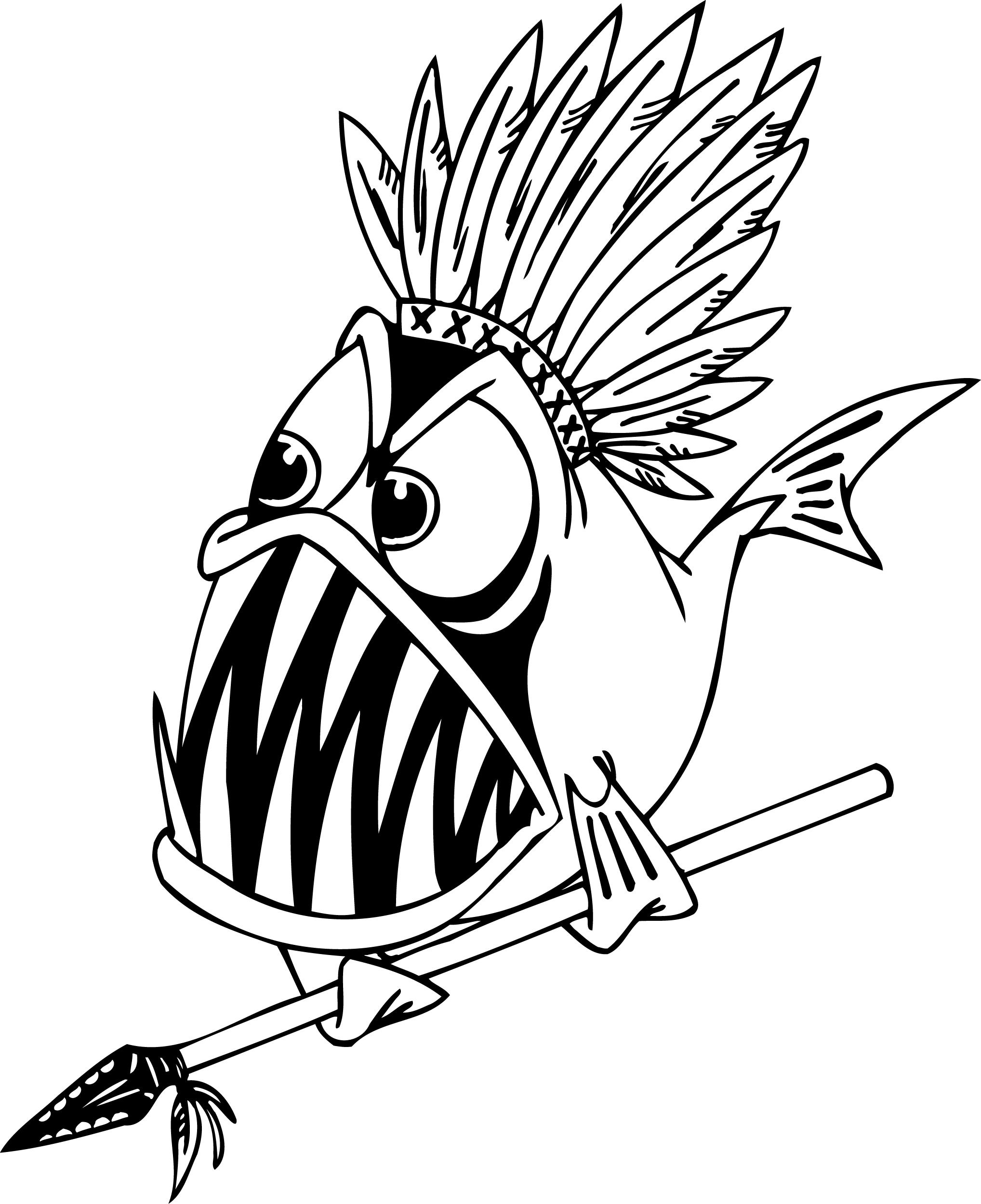 Detailed Fish Coloring Pages