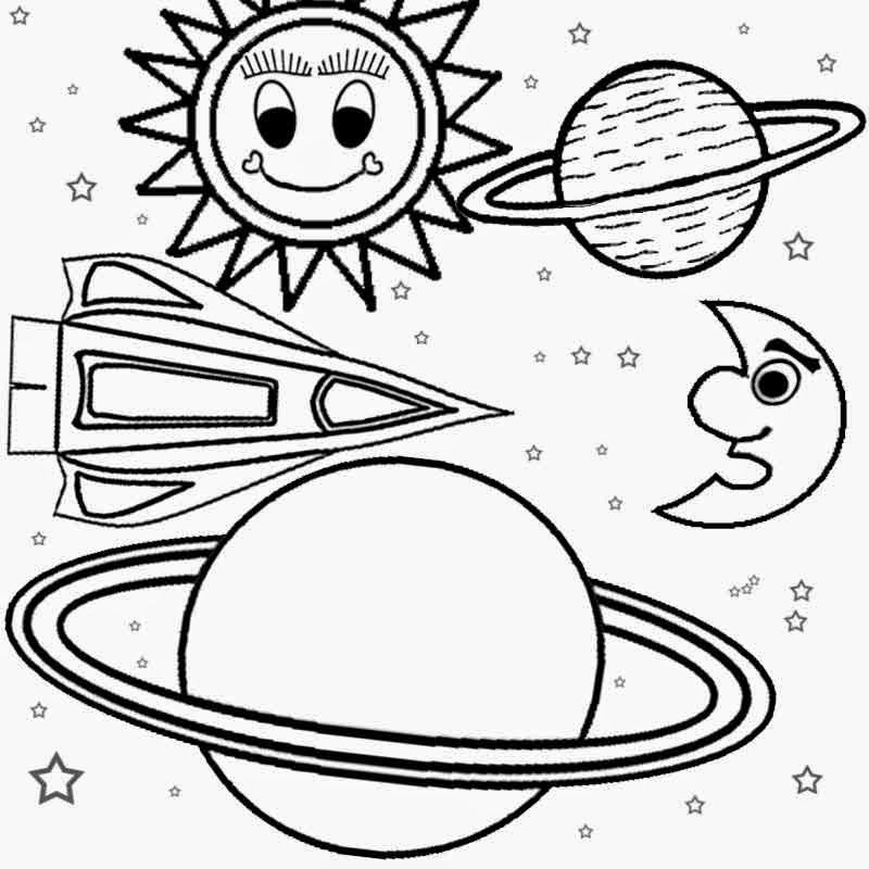 Color Of Planets Coloring Home