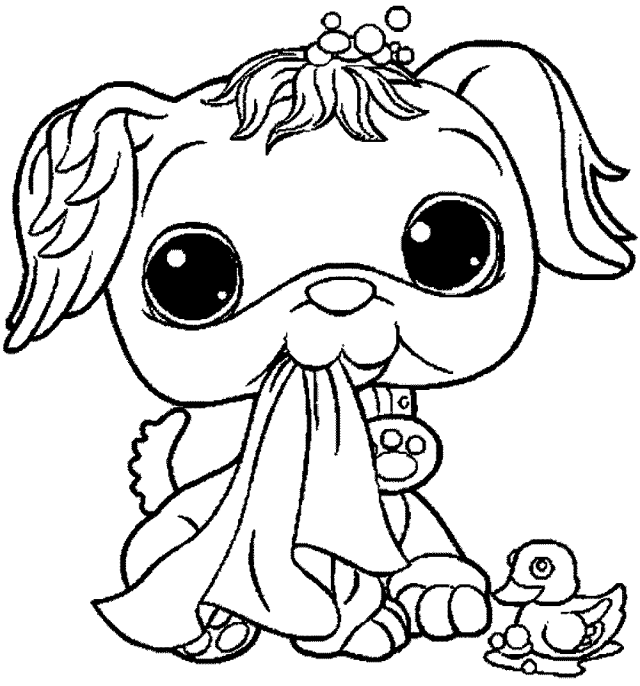 Free Littlest Pet Shop Coloring Pages - Printable Kids Colouring