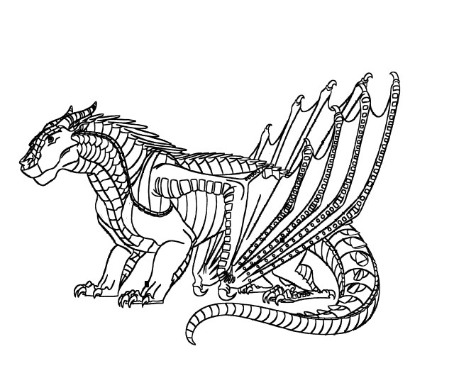 Wings Of Fire Coloring Pages - Coloring Home