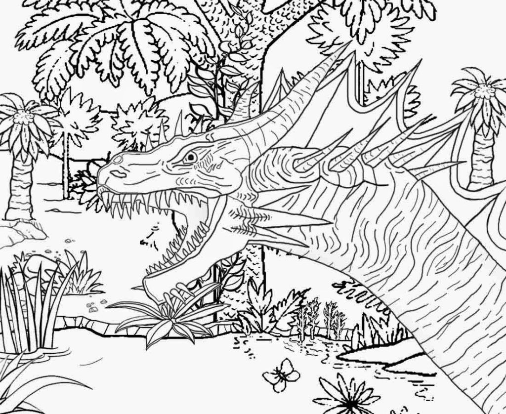 Difficult Coloring Pages For Older Children