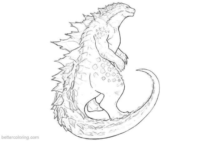 Shin Godzilla Coloring Pages - Coloring Home