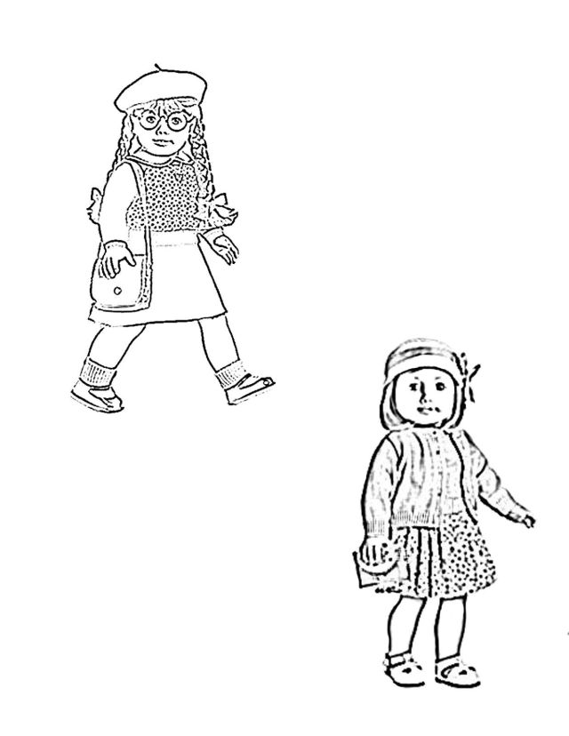 American Girl Coloring Pages Lea American Girl Coloring Pages
