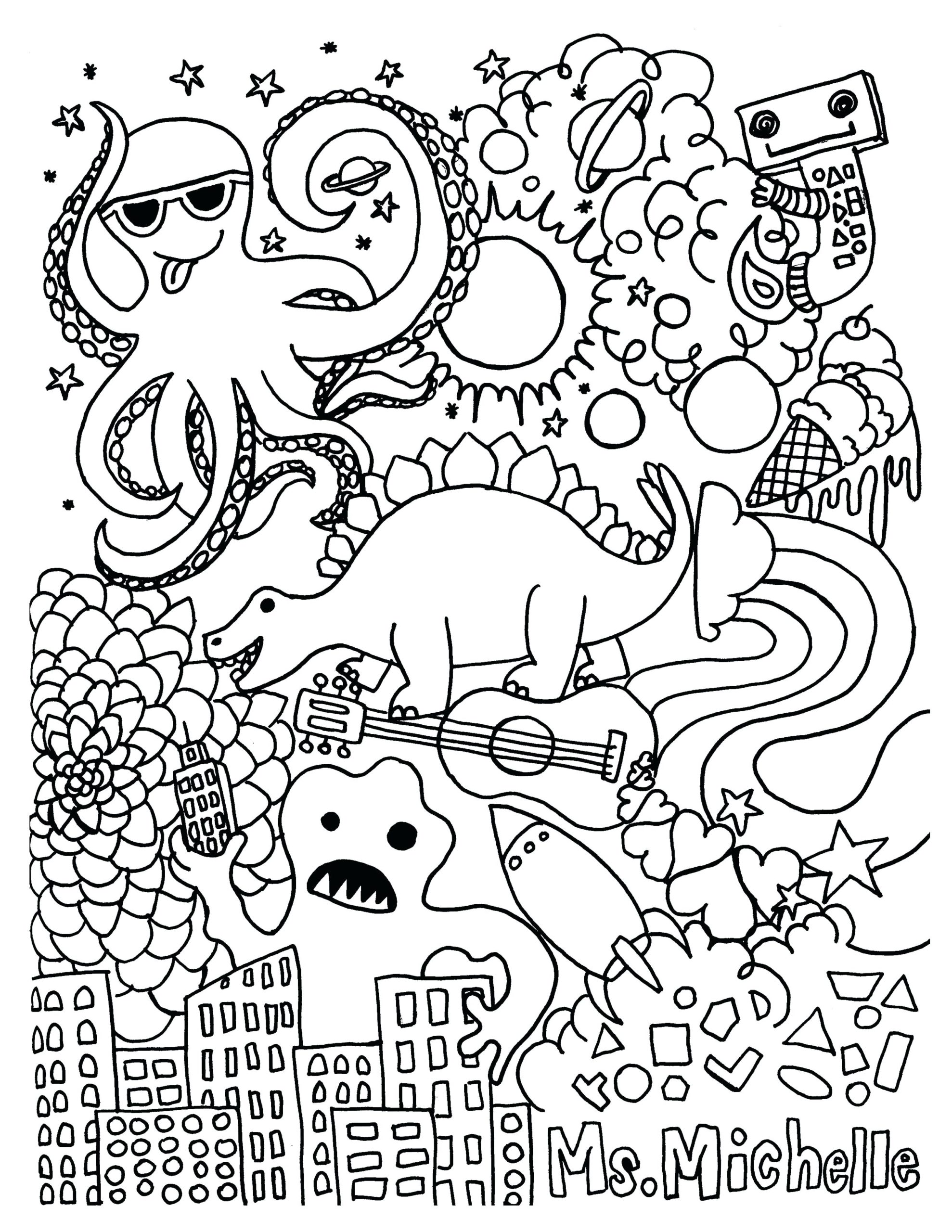 Maths Coloring Pages