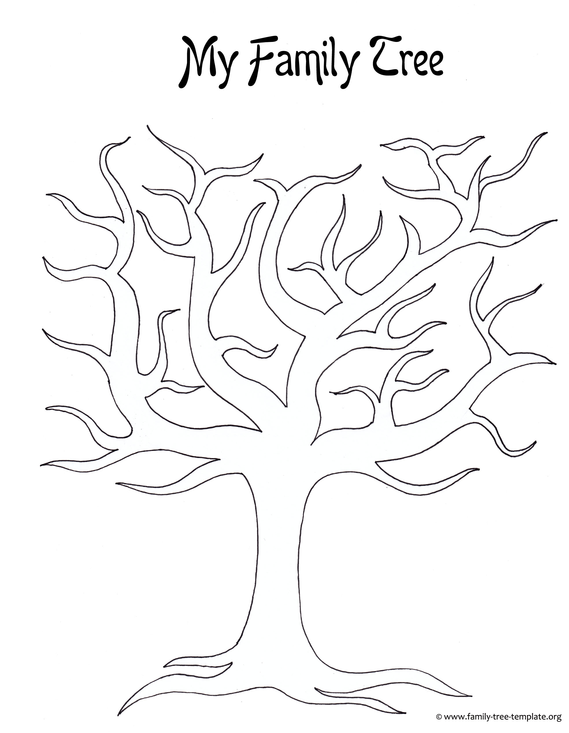 Kids Printable Family Tree