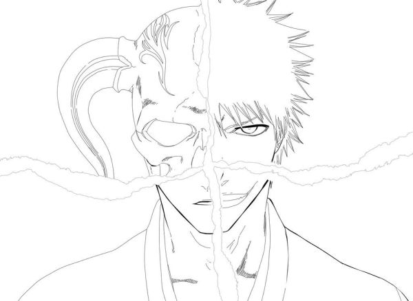 bleach coloring pages # 5