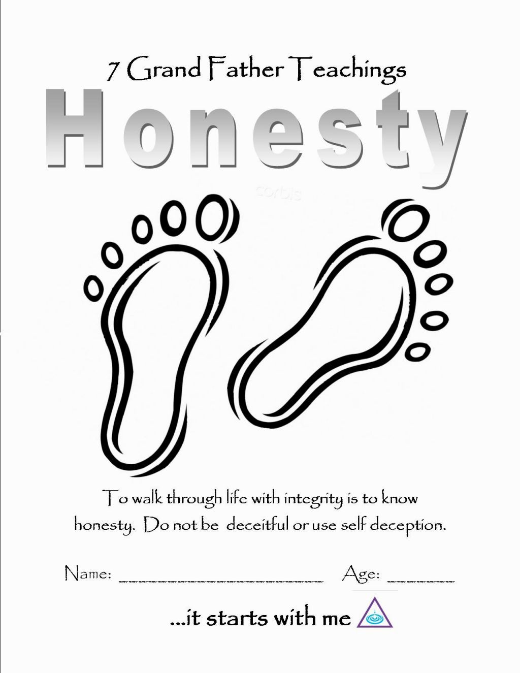 Honesty Coloring Pages Free