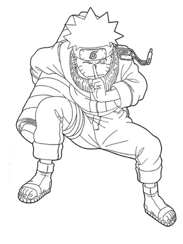 Free Printable Naruto Shippuden Coloring Pages Excellent