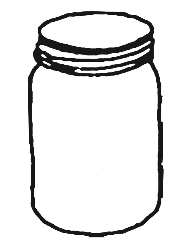 The Best Free Jar Coloring Page Images. Download From 9 Free