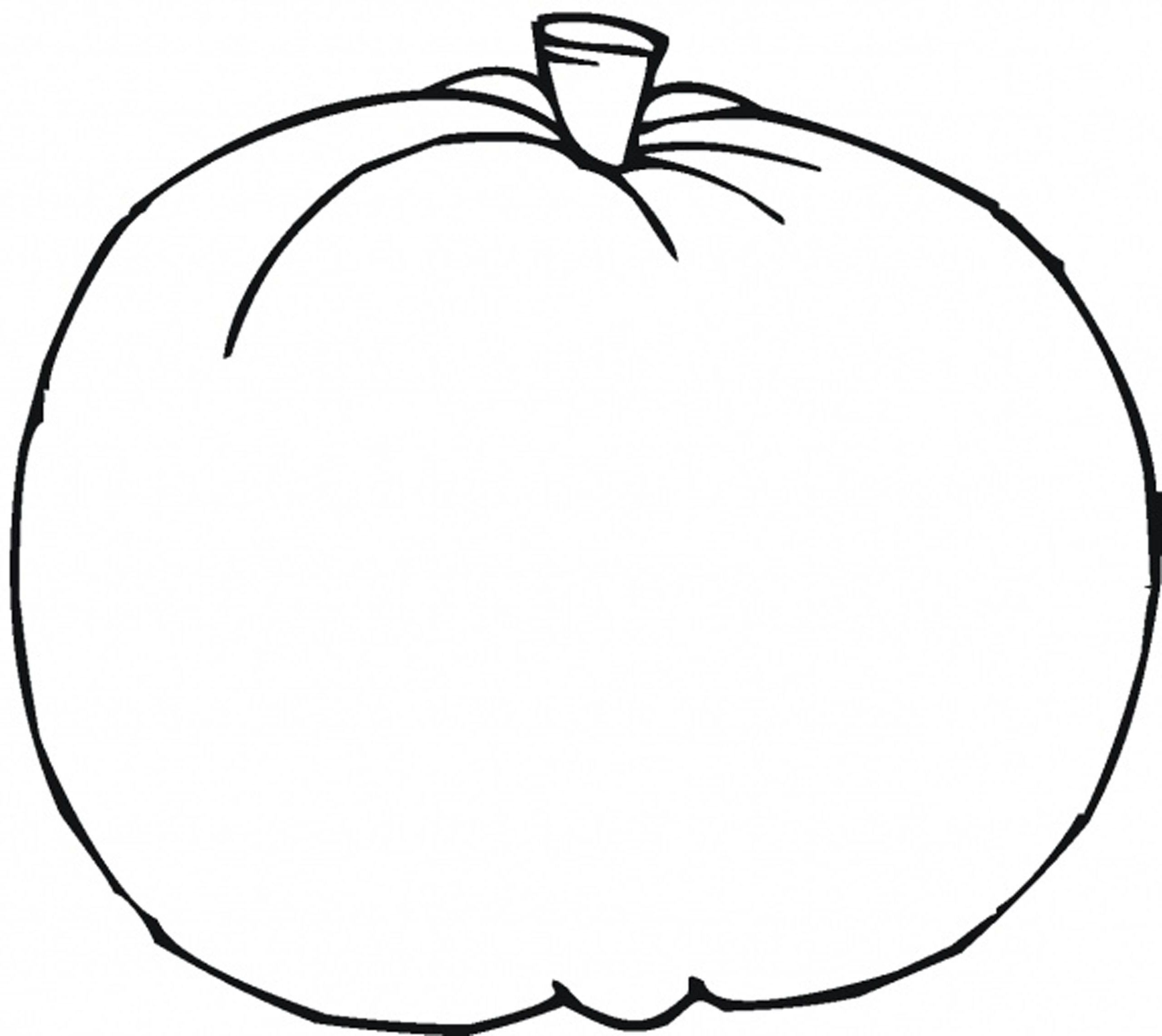 Blank Pumpkin Template