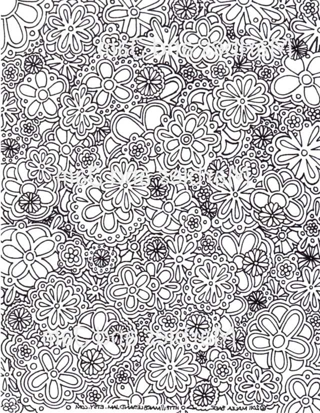 Free Printable Complex Coloring Pages - Coloring Home