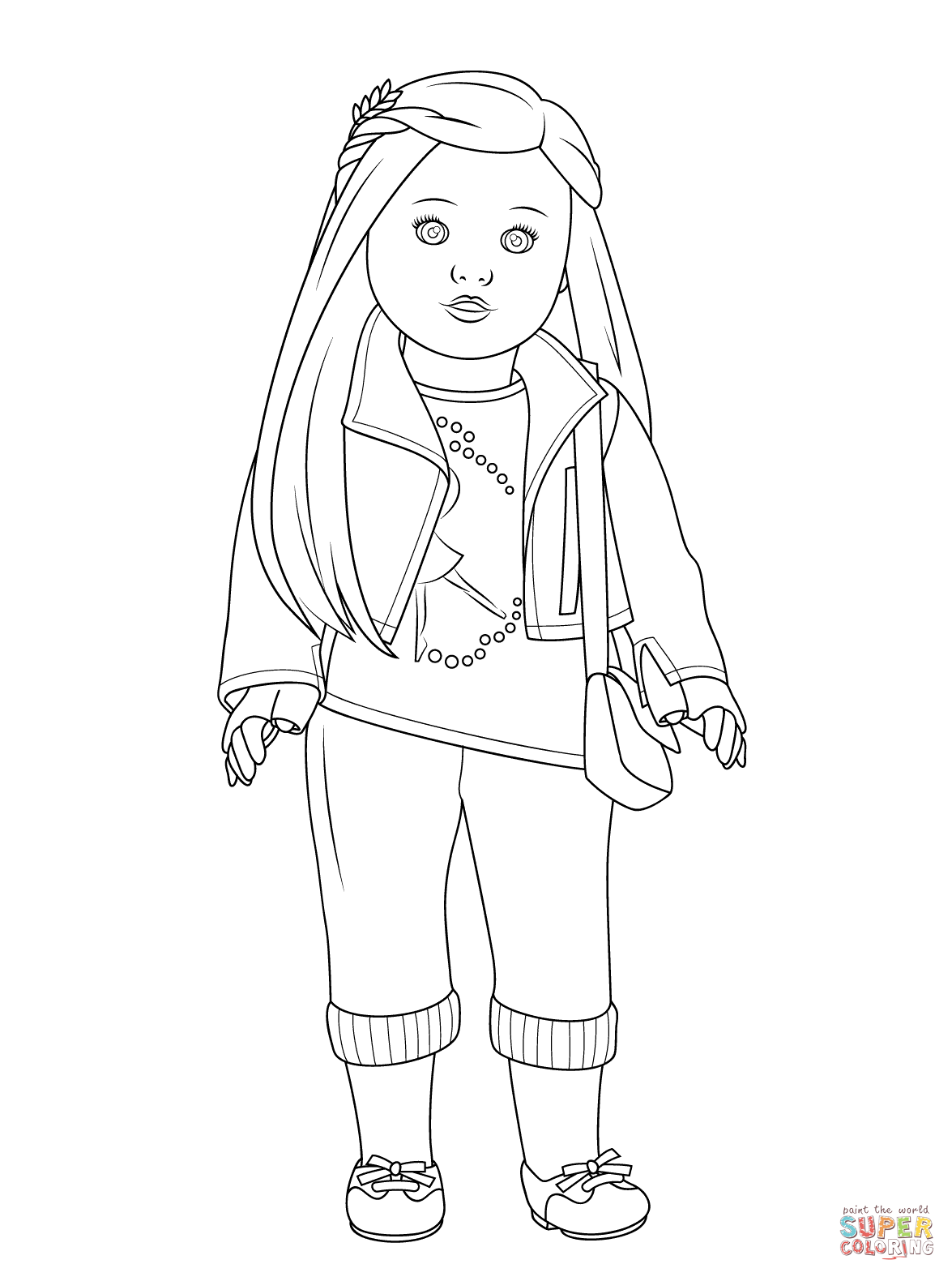 Kit Kittredge Coloring Pages