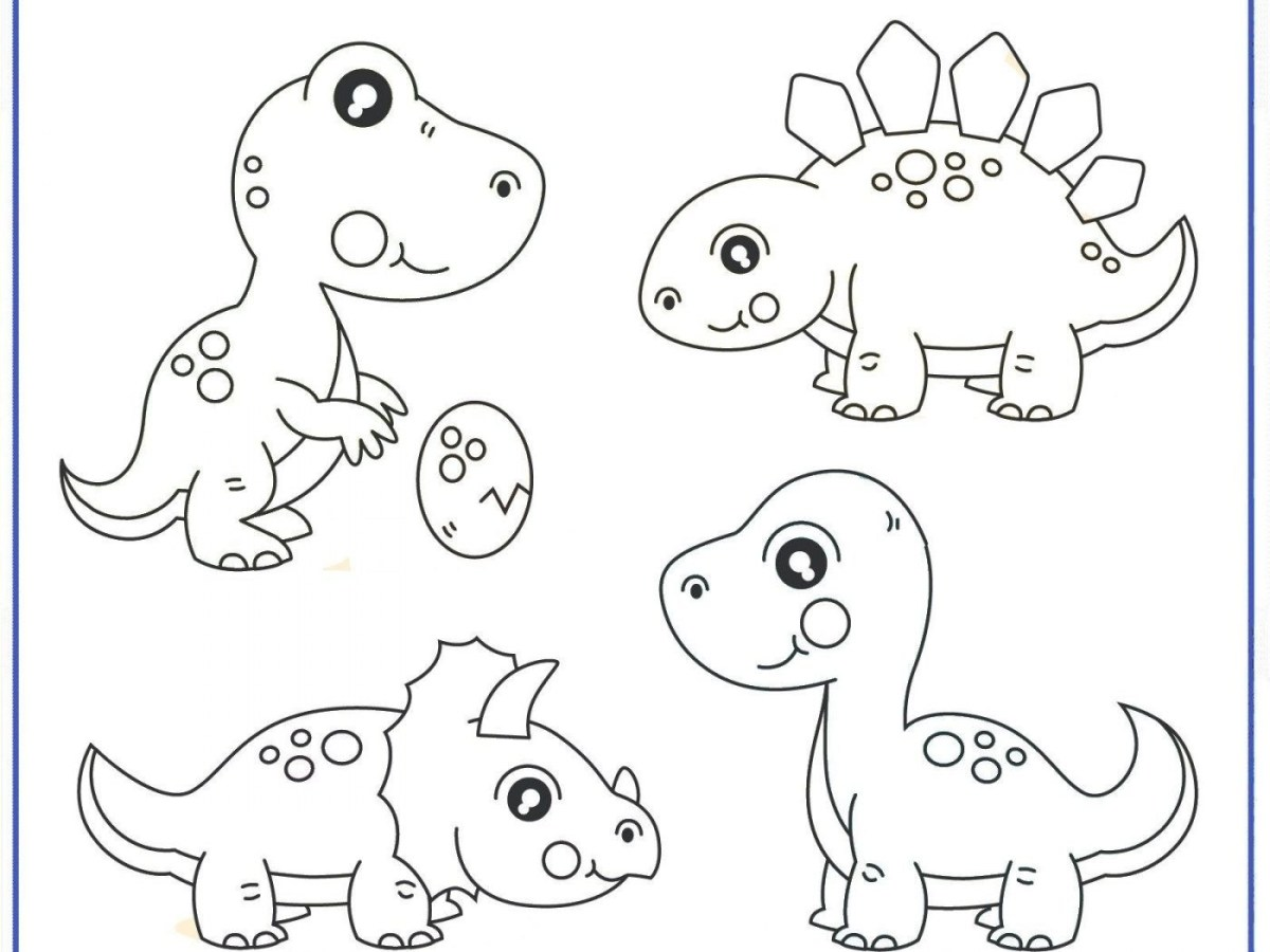 Dinosaurus Coloring Pages