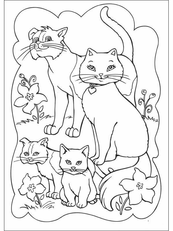 cats coloring pages coloring kids