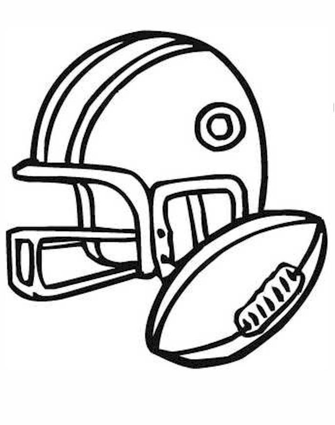 football coloring pages football coloring pages logos high quality