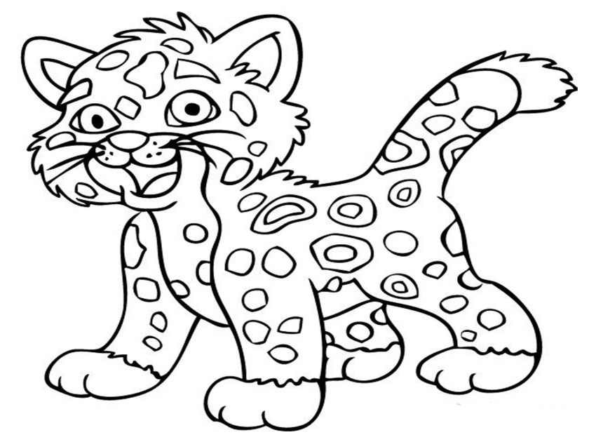 animal coloring pages (9)  coloring kids