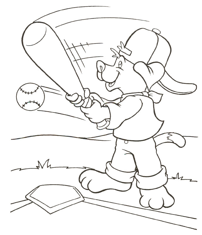 baseball coloring pages 11 coloring kids