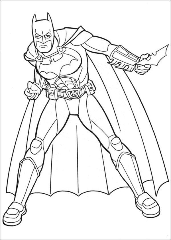 batman coloring pages 9 coloring kids