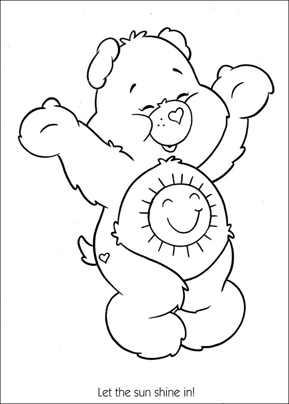 kids care bears coloring pages 2 activities care bears coloring pages