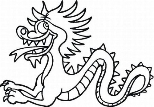 chinese new year animals coloring pages coloring kids