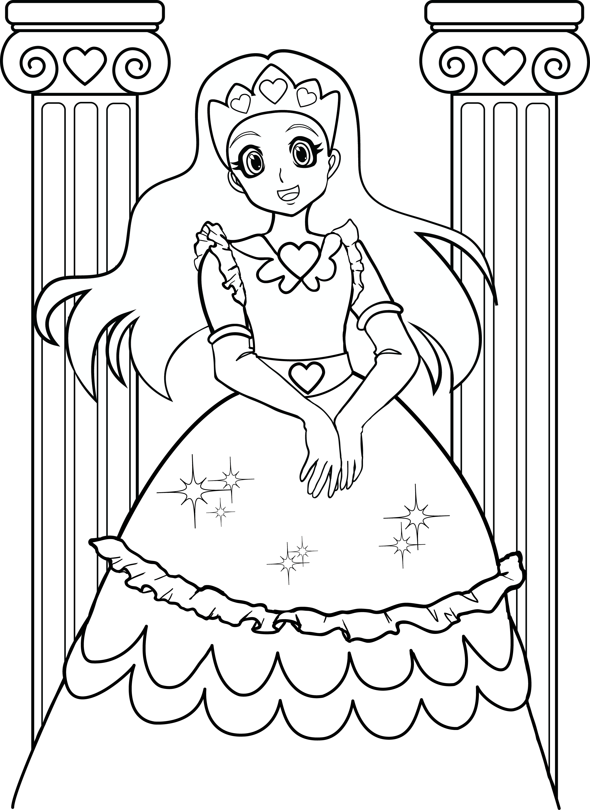 Coloring Pages For Girls 7